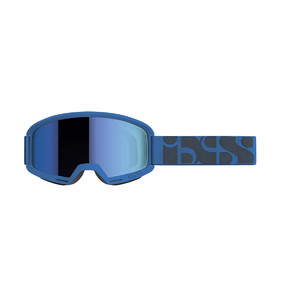 iXS goggle Hack racing blue / mirror cobalt one-si
