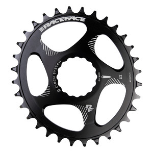 RACE FACE zębatka CINCH Oval black 10-12S